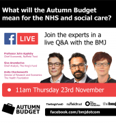 Q&A: What does the Autumn Budget mean for the NHS and social care?