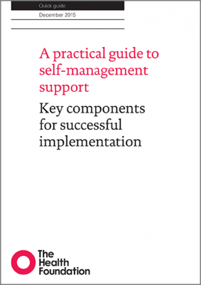 A practical guide to self-management support