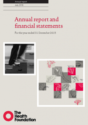 2015 annual report and financial statements
