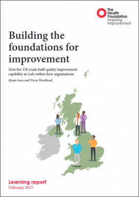 Building the foundations for improvement
