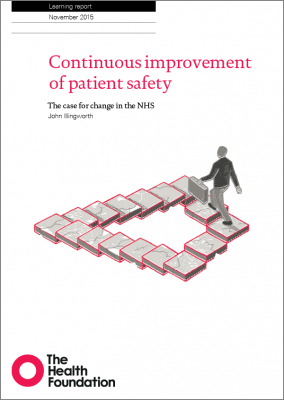 Continuous improvement of patient safety