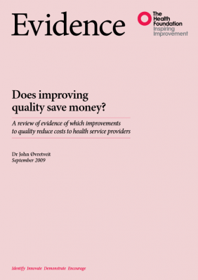 Does improving quality save money?