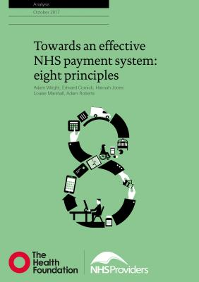 Towards an effective NHS payment system: eight principles