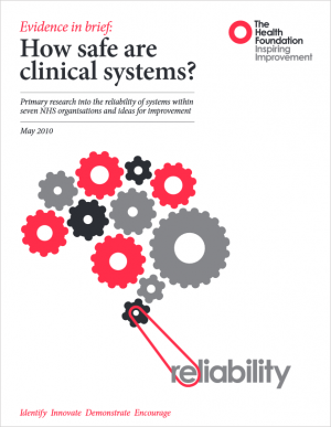 Evidence: How safe are clinical systems?