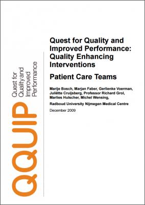 Patient care teams