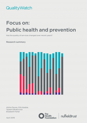 Focus on: Public health and prevention