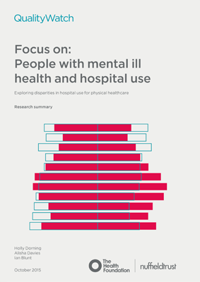 Focus on: People with mental ill health and hospital use