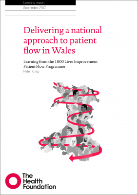 Delivering a national approach to patient flow in Wales